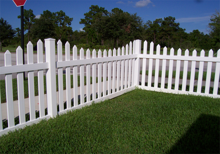 Low Cost Effective Outdoor PVC Fence