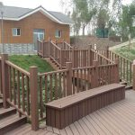 High Environmental Protection WPC Fence